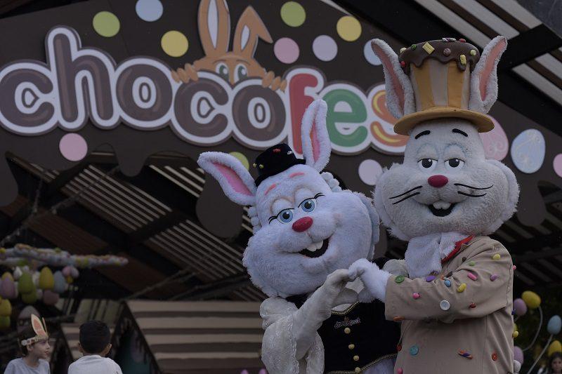 Chocofest em Nova Petrópolis, na Serra Gaúcha, tem seu primeiro desfile