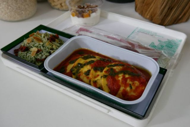 Alitalia renova cardápio de bordo em abril; confira os novos pratos