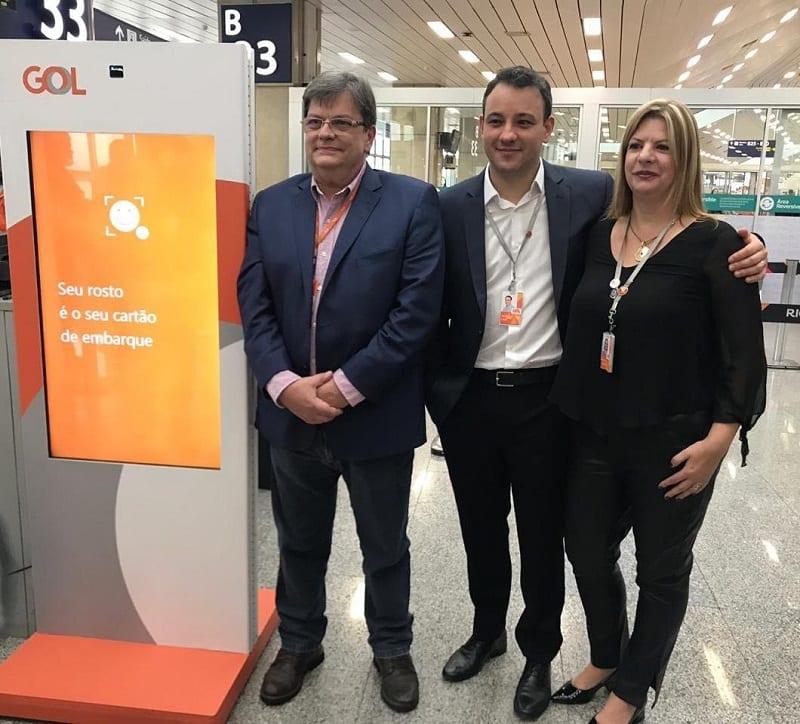 GOL lança serviço de embarque por biometria facial, pioneiro no Brasil