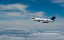 Jato executivo Praetor 600 da Embraer realiza sua primeira travessia transatlântica, abastecido por biocombustível