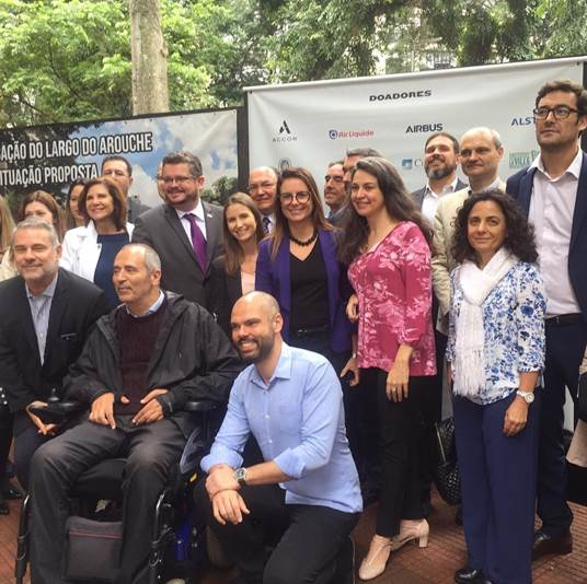 Accor apoia revitalização do Largo do Arouche