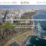 Site sobre os Jogos Pan-Americanos Lima 2019, com ofertas de viagens, é lançado pela Promperú