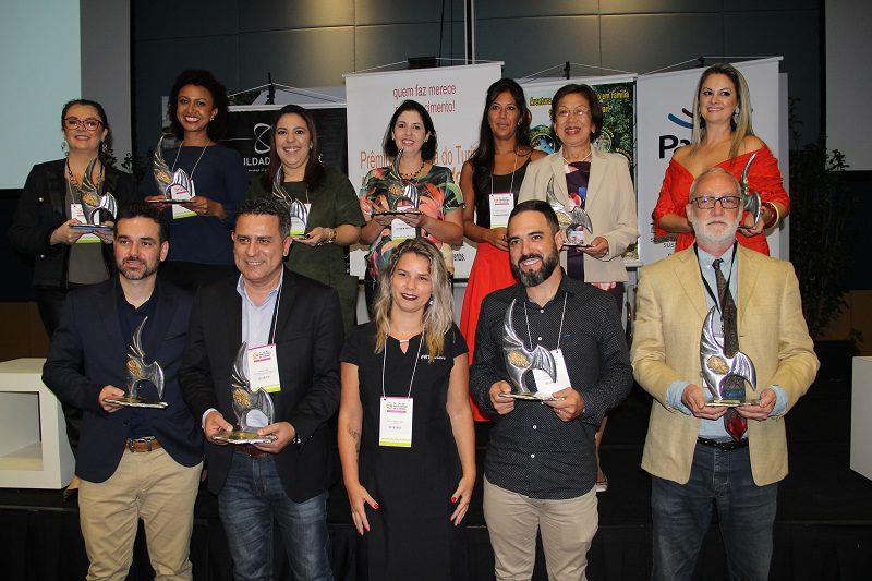 Empreendedores do Paraná são reconhecidos no Prêmio Panorama do Turismo   Profissionais do Ano   2018