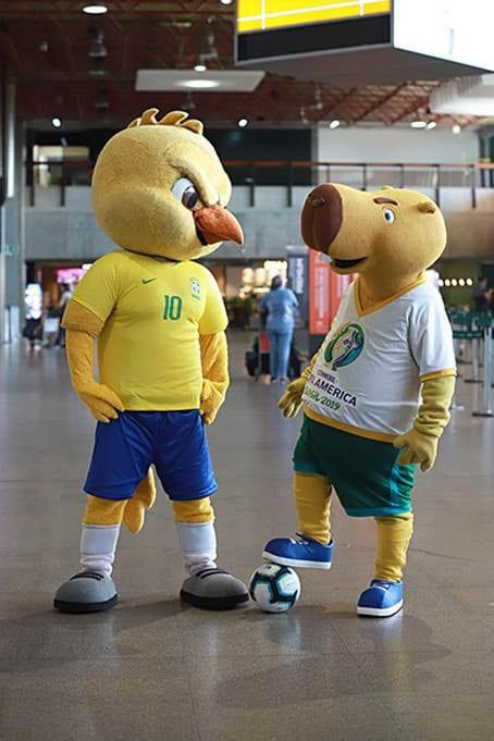 GOL patrocina Copa América e transportará as seleções durante o evento