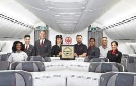 Air Canada é eleita a melhor companhia aérea da América do Norte