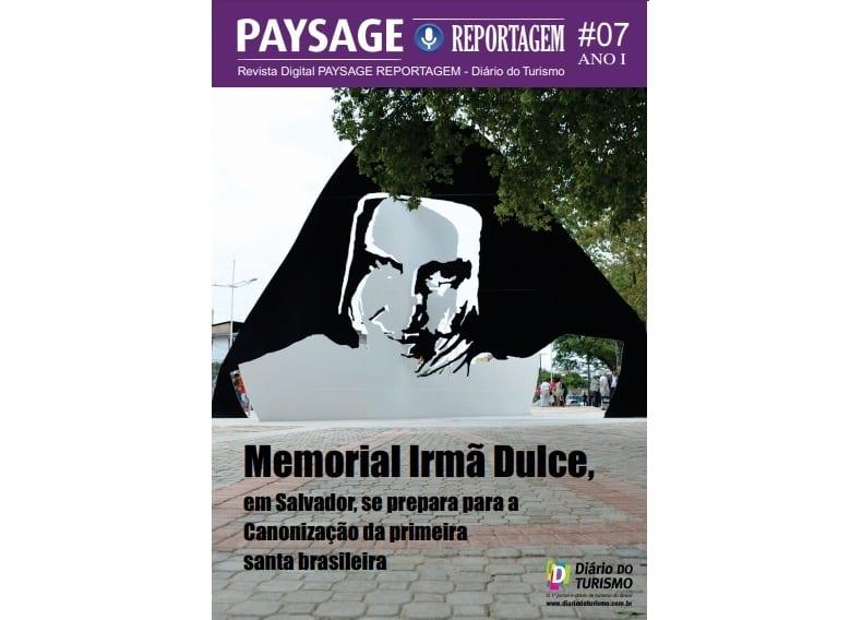Revista do DIÁRIO deste mês é sobre o Santuário Irmã Dulce, em Salvador