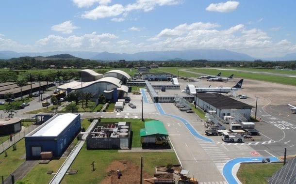 Pátio de aeronaves do Aeroporto de Joinville ganhará nova sinalização