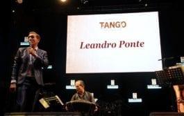 Leandro Ponte, profissão: cantor de tango