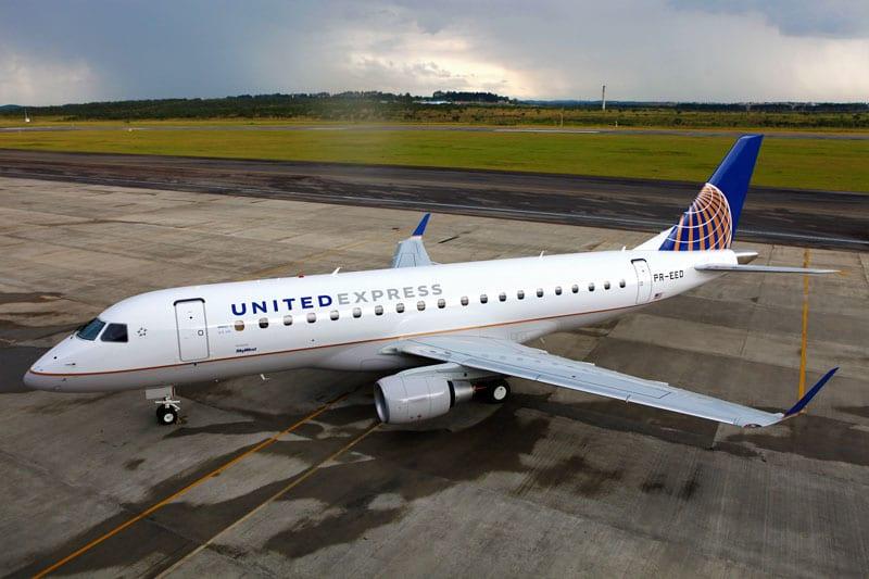 Embraer assina contrato com a United Airlines para pedido de 39 E175s