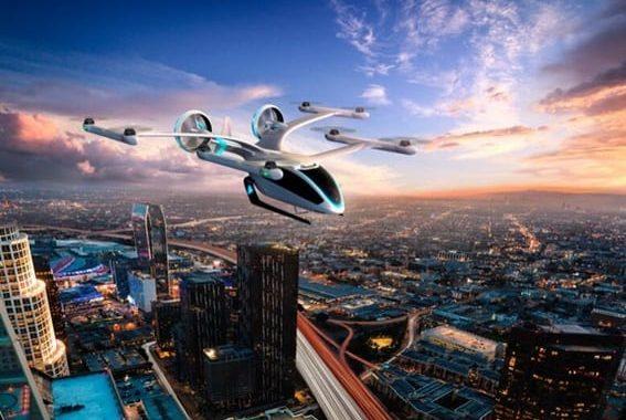 EmbraerX revela novo conceito de veículo voador para a mobilidade aérea urbana do futuro