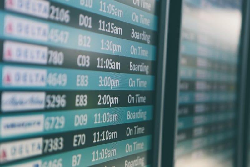 Aeroportos brasileiros têm piora de pontualidade nos primeiros cinco meses do ano