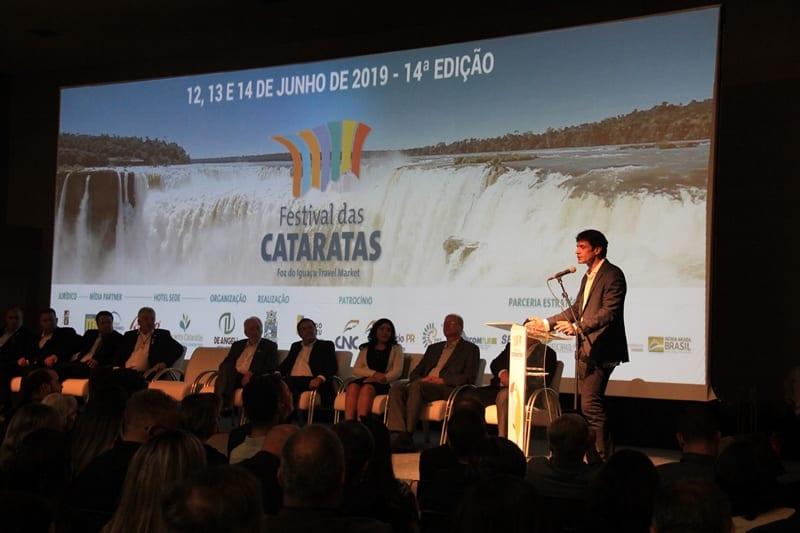 14º Festival das Cataratas é inaugurado oficialmente em Foz do Iguaçu (PR)