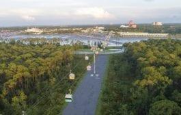 Disney Skyliner na Flórida, abre para opúblico em 29 de setembro
