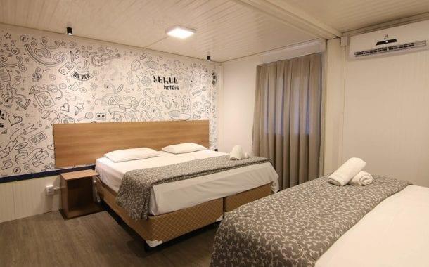 Lafaete e Samba Hotéis inauguram primeiro hotel da rede feito em contêiner em Minas Gerais