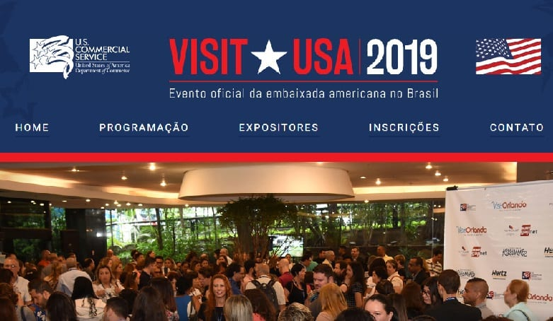 Confira a programação do Visit USA 2019 que acontece de 5 a 9 agosto