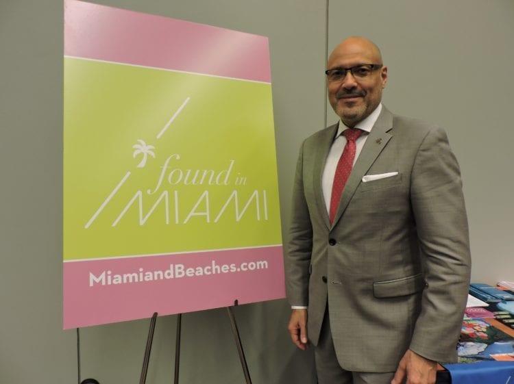 Joe Docal, diretor do Miami Convention & Visitors Bureau fala ao DIÁRIO