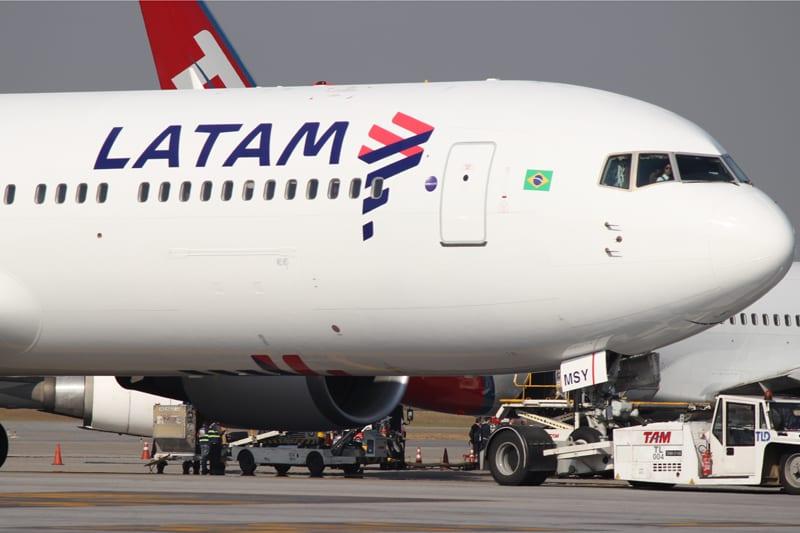 LATAM é novamente a mais pontual do mundo segundo FlightStats