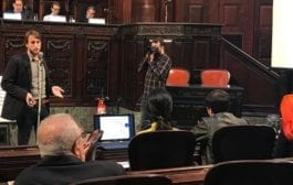 Economista do IFec RJ realiza palestra no Salão do Turismo