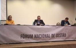 Começa a 2ª Reunião Ordinária de 2019 do Fórum Nacional de Gestão do Ministério Público