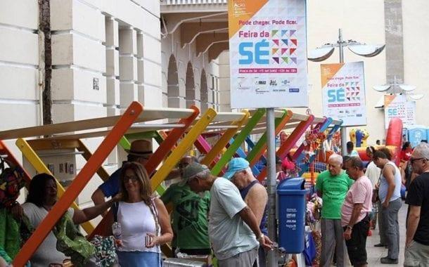 Feira da Sé agita o Centro Histórico neste final de semana