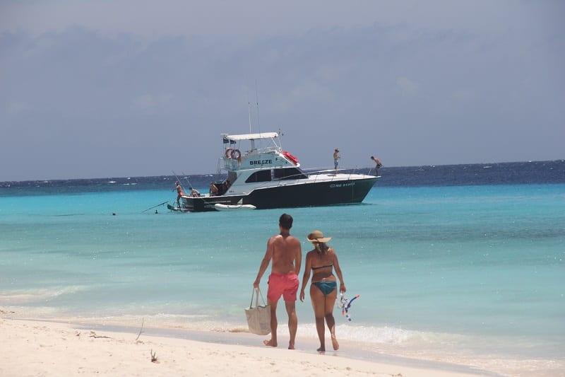 Viver tudo isto em Klein Curaçao (Veja o vídeo!)