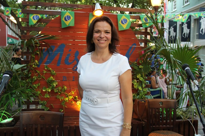 Waleska Schumacher, cônsul honorária do Brasil em Curaçao, fala ao DIÁRIO - (Exclusivo!)