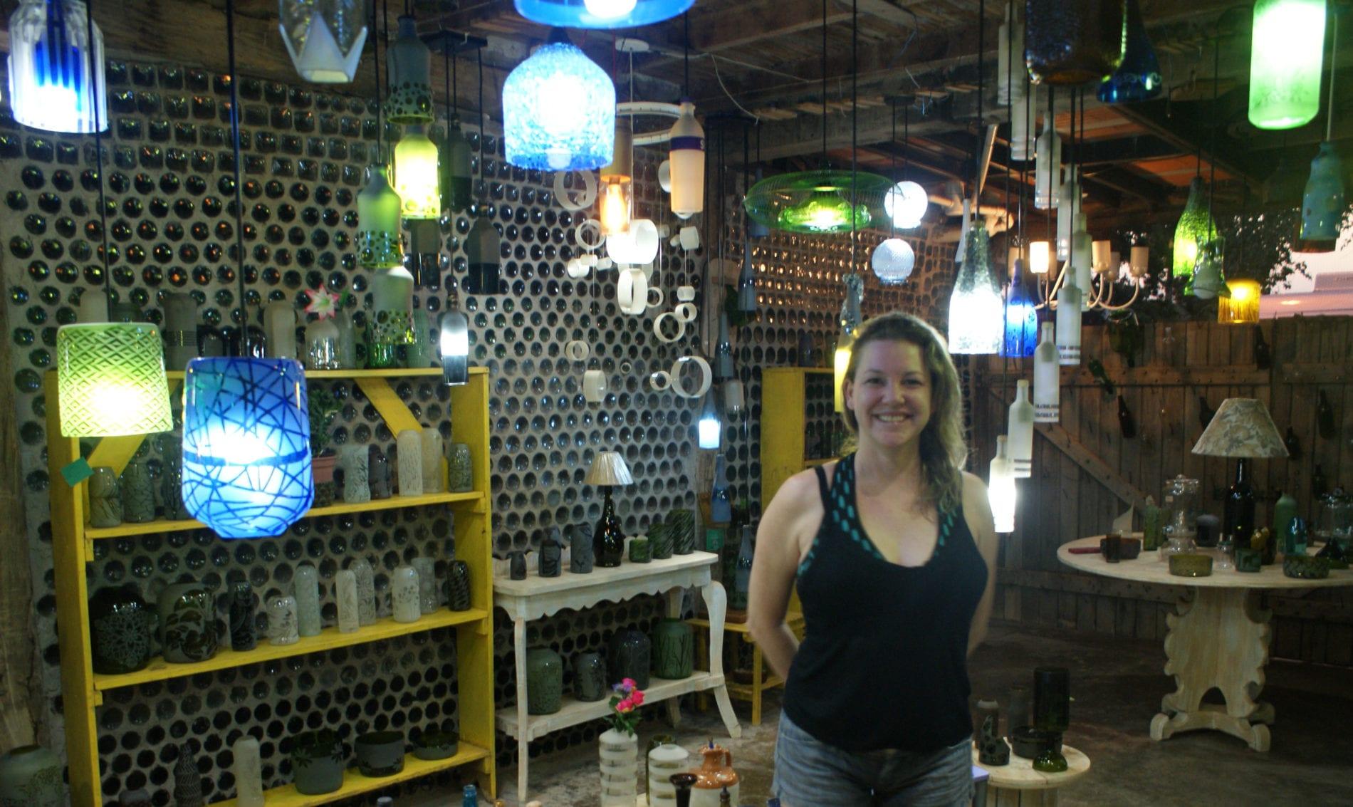 Especial Bonito (MS): Vidros são ressignificados pela mãos de artesãos