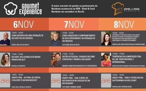 Gastronomia 4.0 é discutida no Gourmet Experience em Pernambuco
