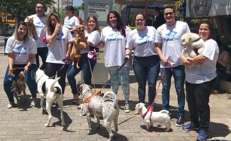 Rede Travel Inn promove Pet Day em São Paulo
