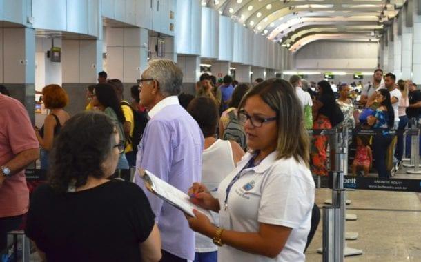 MTur é apoiado pelo Setur em pesquisa sobre o perfil do turista estrangeiro em aeroportos