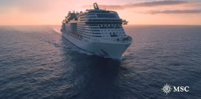 MSC Grandiosa volta a navegar e inicia pelo Mediterrâneo